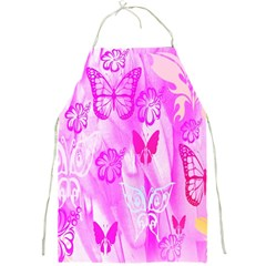 Butterfly Cut Out Pattern Colorful Colors Full Print Aprons