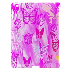 Butterfly Cut Out Pattern Colorful Colors Apple Ipad 3/4 Hardshell Case (compatible With Smart Cover) by Simbadda