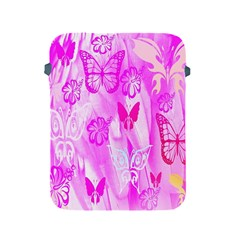 Butterfly Cut Out Pattern Colorful Colors Apple Ipad 2/3/4 Protective Soft Cases by Simbadda