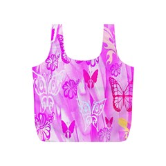 Butterfly Cut Out Pattern Colorful Colors Full Print Recycle Bags (s)  by Simbadda