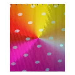 Polka Dots Pattern Colorful Colors Shower Curtain 60  X 72  (medium)  by Simbadda