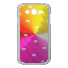 Polka Dots Pattern Colorful Colors Samsung Galaxy Grand Duos I9082 Case (white) by Simbadda