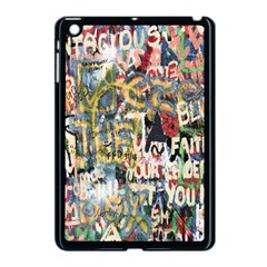 Graffiti Wall Pattern Background Apple Ipad Mini Case (black) by Simbadda