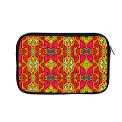 Abstract Background Design With Doodle Hearts Apple Macbook Pro 13  Zipper Case