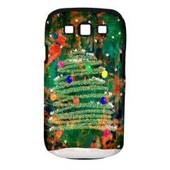 Watercolour Christmas Tree Painting Samsung Galaxy S Iii Classic Hardshell Case (pc+silicone) by Simbadda