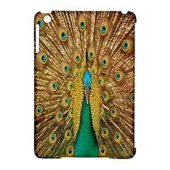 Peacock Bird Feathers Apple Ipad Mini Hardshell Case (compatible With Smart Cover) by Simbadda