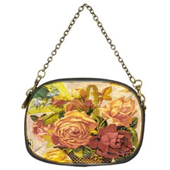 Victorian Background Chain Purses (one Side)  by Simbadda