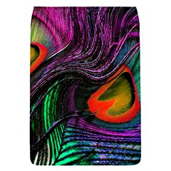 Peacock Feather Rainbow Flap Covers (s)  by Simbadda