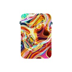 Colourful Abstract Background Design Apple Ipad Mini Protective Soft Cases by Simbadda
