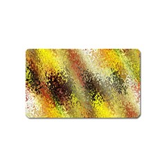Multi Colored Seamless Abstract Background Magnet (name Card) by Simbadda