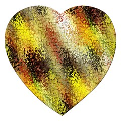 Multi Colored Seamless Abstract Background Jigsaw Puzzle (heart) by Simbadda