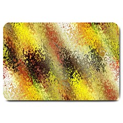 Multi Colored Seamless Abstract Background Large Doormat  by Simbadda