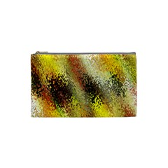 Multi Colored Seamless Abstract Background Cosmetic Bag (small)  by Simbadda