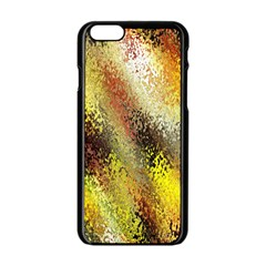 Multi Colored Seamless Abstract Background Apple Iphone 6/6s Black Enamel Case by Simbadda