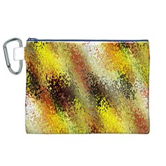 Multi Colored Seamless Abstract Background Canvas Cosmetic Bag (xl) by Simbadda