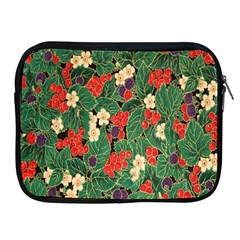Berries And Leaves Apple Ipad 2/3/4 Zipper Cases by Simbadda
