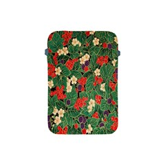 Berries And Leaves Apple Ipad Mini Protective Soft Cases by Simbadda