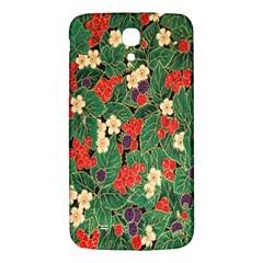 Berries And Leaves Samsung Galaxy Mega I9200 Hardshell Back Case by Simbadda