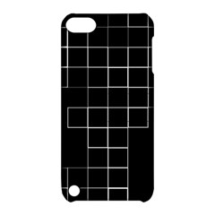 Abstract Clutter Apple Ipod Touch 5 Hardshell Case With Stand by Simbadda