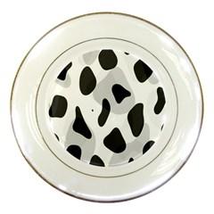 Abstract Venture Porcelain Plates by Simbadda