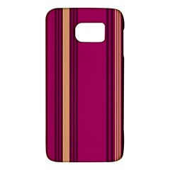 Stripes Background Wallpaper In Purple Maroon And Gold Galaxy S6 by Simbadda