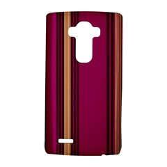 Stripes Background Wallpaper In Purple Maroon And Gold Lg G4 Hardshell Case by Simbadda