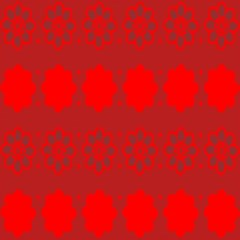 Red Flowers Velvet Flower Pattern Magic Photo Cubes by Simbadda