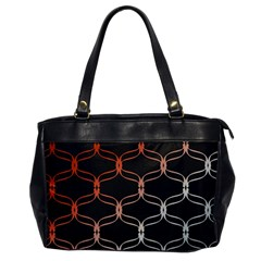 Cadenas Chinas Abstract Design Pattern Office Handbags by Simbadda