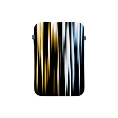 Digitally Created Striped Abstract Background Texture Apple Ipad Mini Protective Soft Cases by Simbadda