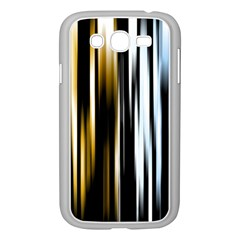 Digitally Created Striped Abstract Background Texture Samsung Galaxy Grand Duos I9082 Case (white) by Simbadda