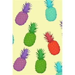 Colorful Pineapples Wallpaper Background 5 5  X 8 5  Notebooks by Simbadda