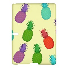 Colorful Pineapples Wallpaper Background Samsung Galaxy Tab S (10 5 ) Hardshell Case  by Simbadda