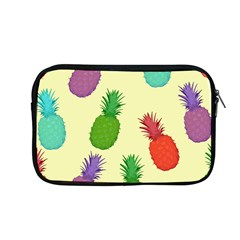Colorful Pineapples Wallpaper Background Apple Macbook Pro 13  Zipper Case