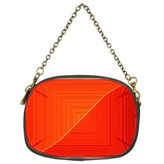 Abstract Clutter Baffled Field Chain Purses (one Side)  by Simbadda
