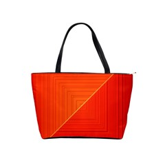 Abstract Clutter Baffled Field Shoulder Handbags by Simbadda