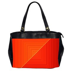 Abstract Clutter Baffled Field Office Handbags (2 Sides)  by Simbadda