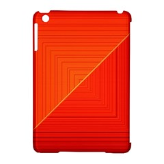 Abstract Clutter Baffled Field Apple Ipad Mini Hardshell Case (compatible With Smart Cover) by Simbadda