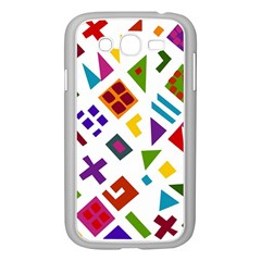 A Colorful Modern Illustration For Lovers Samsung Galaxy Grand Duos I9082 Case (white) by Simbadda