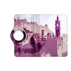 Abstract Painting Edinburgh Capital Of Scotland Kindle Fire Hd (2013) Flip 360 Case by Simbadda