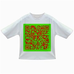 Colorful Qr Code Digital Computer Graphic Infant/toddler T Shirts by Simbadda