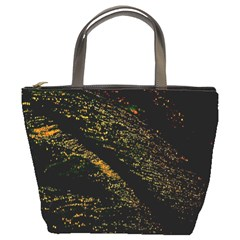 Abstract Background Bucket Bags by Simbadda