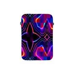 Rainbow Abstract Background Pattern Apple Ipad Mini Protective Soft Cases by Simbadda