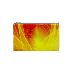 Realm Of Dreams Light Effect Abstract Background Cosmetic Bag (small)  by Simbadda
