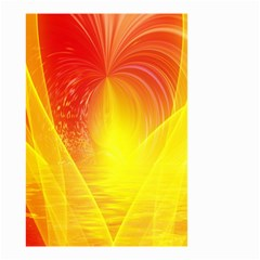 Realm Of Dreams Light Effect Abstract Background Small Garden Flag (two Sides) by Simbadda
