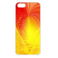Realm Of Dreams Light Effect Abstract Background Apple Iphone 5 Seamless Case (white) by Simbadda