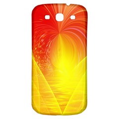 Realm Of Dreams Light Effect Abstract Background Samsung Galaxy S3 S Iii Classic Hardshell Back Case by Simbadda