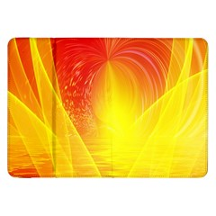 Realm Of Dreams Light Effect Abstract Background Samsung Galaxy Tab 8 9  P7300 Flip Case by Simbadda