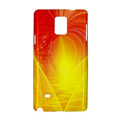 Realm Of Dreams Light Effect Abstract Background Samsung Galaxy Note 4 Hardshell Case by Simbadda