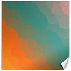Abstract Elegant Background Pattern Canvas 16  X 16   by Simbadda
