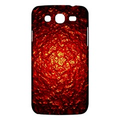 Abstract Red Lava Effect Samsung Galaxy Mega 5 8 I9152 Hardshell Case  by Simbadda